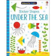 Sticker shapes under the sea (Mini)-BuyBookBook