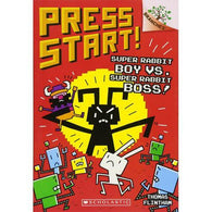 Press Start! #4: Super Rabbit Boy vs. Super Rabbit Boss!-BuyBookBook