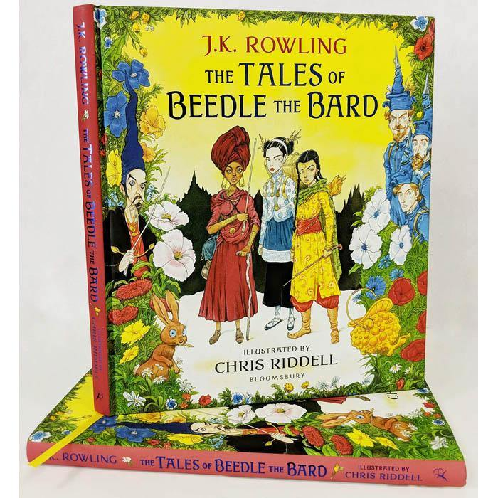 Tales of Beedle the Bard Illustrated Edition (Hardback) (Harry Potter)-BuyBookBook