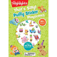 That's Silly! Puffy Sticker Playscenes (Highlights)-BuyBookBook
