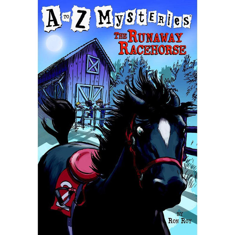 A to Z Mysteries #18 #R The Runaway Racehorse