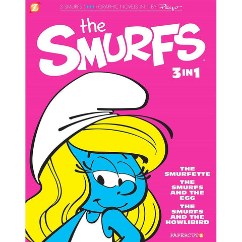 The Smurfs Graphic Novels 3-in-1 Vol #2-BuyBookBook