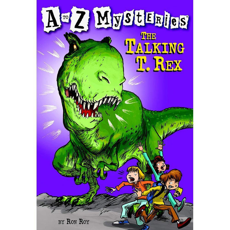 A to Z Mysteries #20 #T The Talking T. Rex