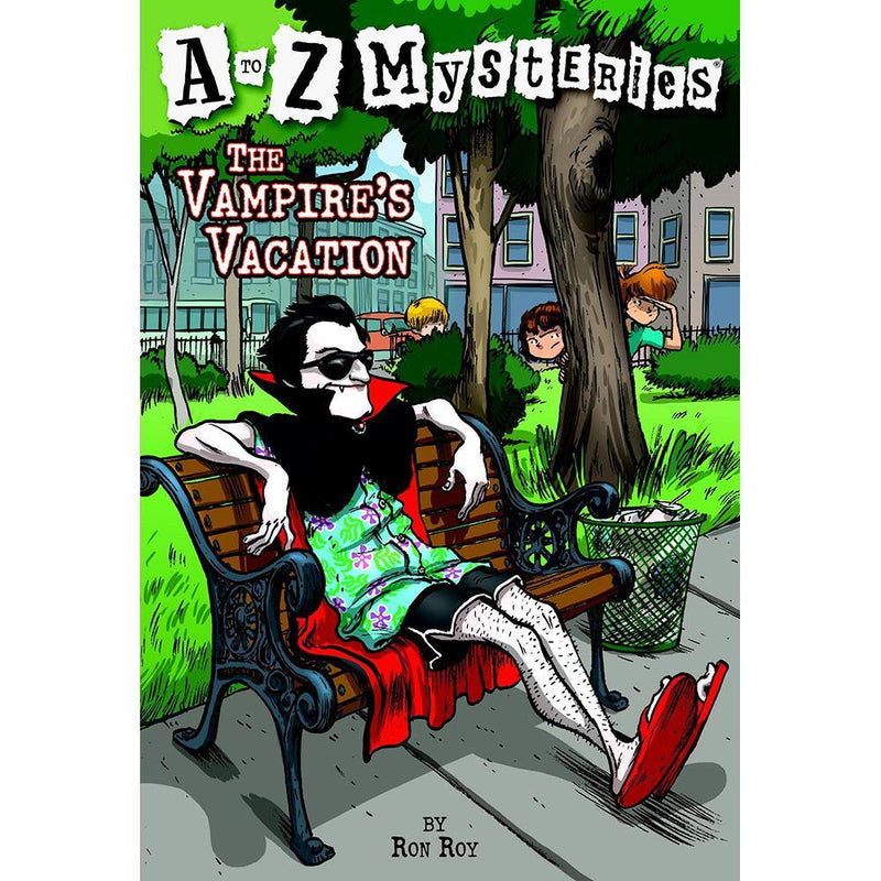 A to Z Mysteries #22 #V The Vampire's Vacation