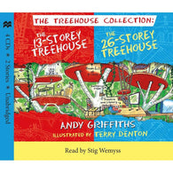 The 13 Storey & 26 Storey Treehouse CD set-BuyBookBook