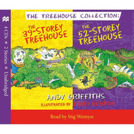 The 39-Storey & 52-Storey Treehouse CD Set-BuyBookBook
