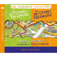 The 65-Storey & 78-Storey Treehouse CD Set-BuyBookBook