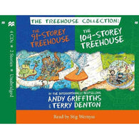 The 91-Storey & 104-Storey Treehouse CD Set-BuyBookBook