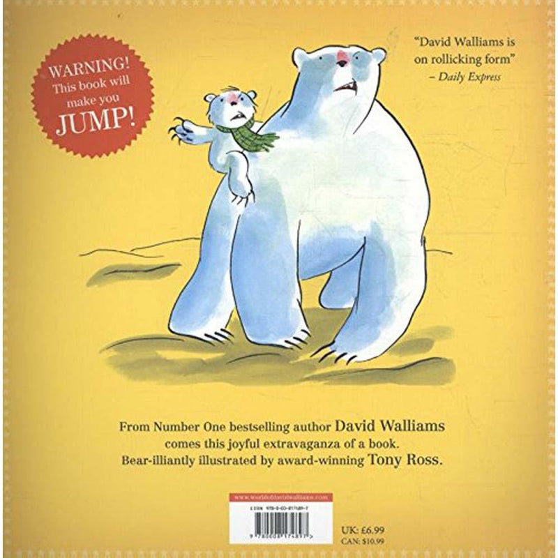 The Bear Who Went Boo! (David Walliams)-BuyBookBook