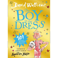 The Boy in the Dress Gift Edition (David Walliams) (Full Color Hardcover)-BuyBookBook