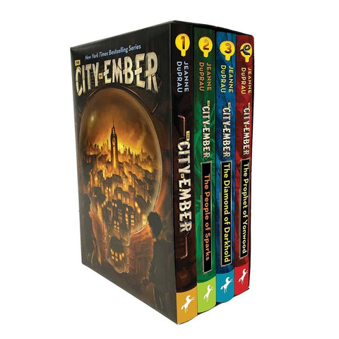 The City of Ember Complete Collection (4 Books)-BuyBookBook