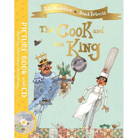 The Cook and the King (Book + CD) (J. Donaldson)-BuyBookBook