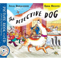 The Detective Dog (Book + CD) (J. Donaldson)-BuyBookBook