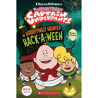 The Epic Tales of Captain Underpants TV- The Horrifyingly Haunted Hack-A-Ween-BuyBookBook