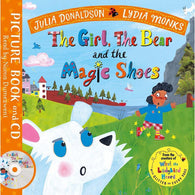 The Girl, the Bear and the Magic Shoes (Book + CD) (J. Donaldson)-BuyBookBook