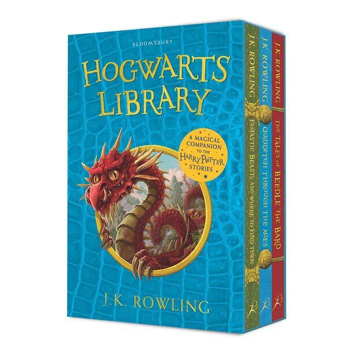 The Hogwarts Library Box Set Collection (3 Books)-BuyBookBook