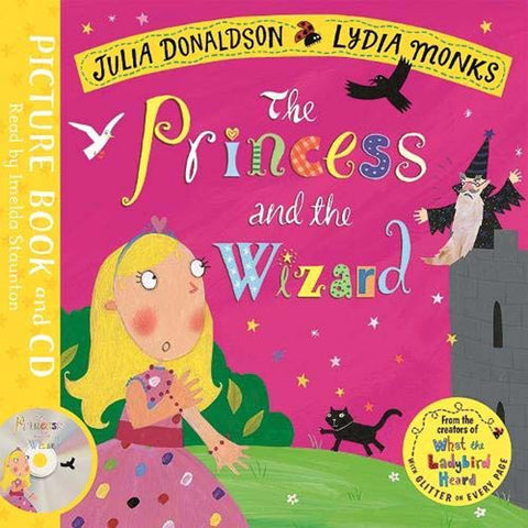 The Princess and the Wizard (Book + CD) (J. Donaldson)-BuyBookBook