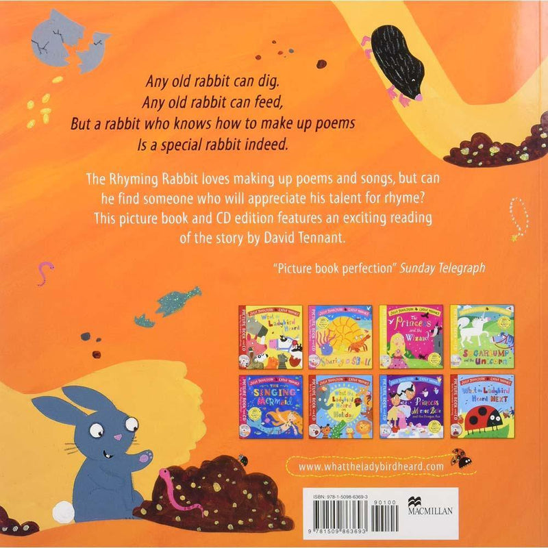 The Rhyming Rabbit (Book + CD) (J. Donaldson)-BuyBookBook