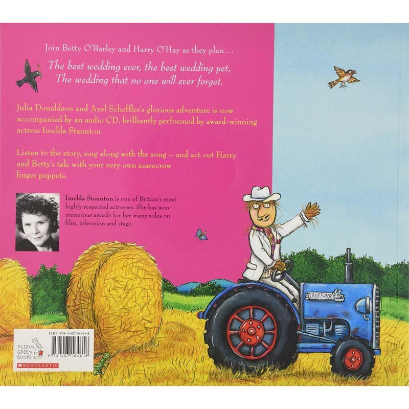 The Scarecrows' Wedding (Book with CD) (J. Donaldson)-BuyBookBook