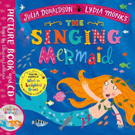 The Singing Mermaid (Book + CD) (J. Donaldson)-BuyBookBook
