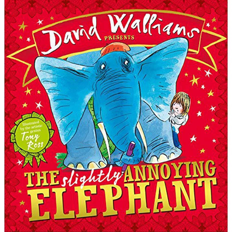 The Slightly Annoying Elephant (David Walliams)-BuyBookBook
