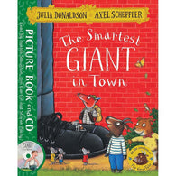 The Smartest Giant in Town (Book + CD) (J. Donaldson)-BuyBookBook