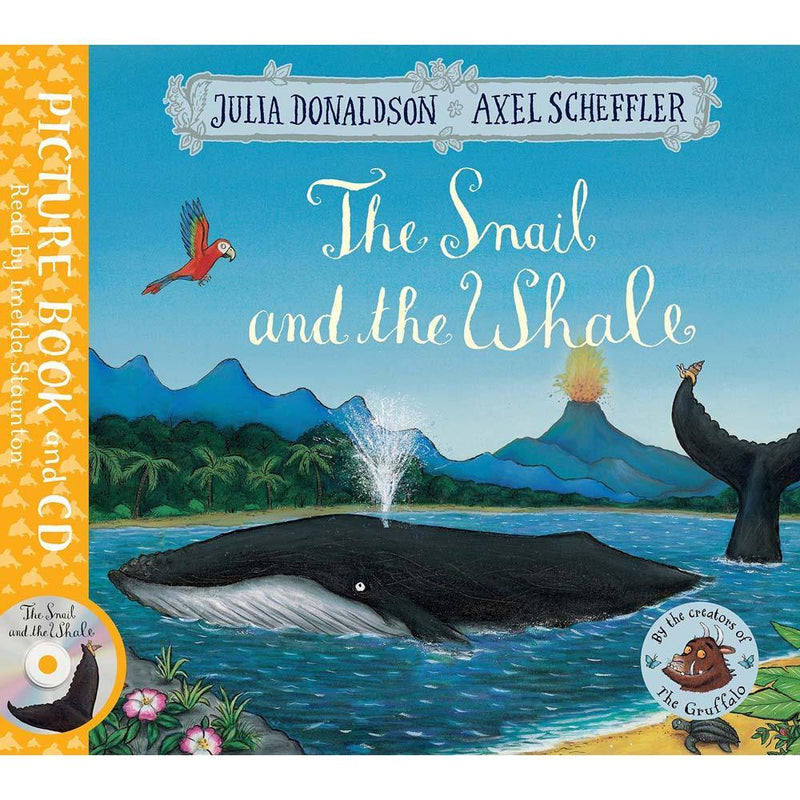 The Snail and the Whale (Book + CD) (J. Donaldson)-BuyBookBook