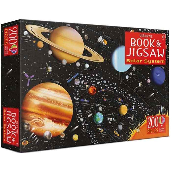The Solar System Book and Jigsaw-BuyBookBook
