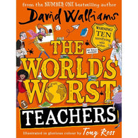 The World's Worst Teachers (David Walliams) (Full Color Hardback)-BuyBookBook