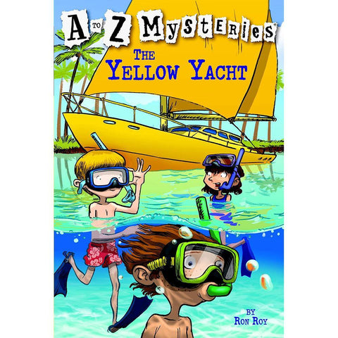 A to Z Mysteries #25 The Yellow Yacht-BuyBookBook