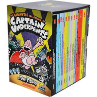 The Gigantic Captain Underpants Collection (12 Books)-BuyBookBook
