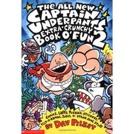 The All New Captain Underpants Extra-Crunchy Book O'Fun 2-BuyBookBook