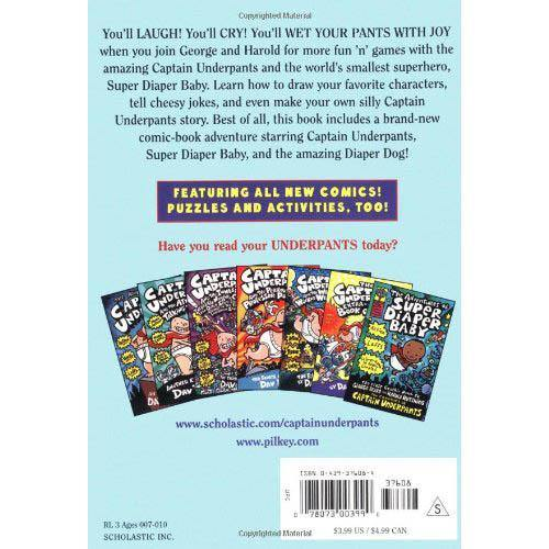 The All New Captain Underpants Extra-Crunchy Book O'Fun 2 (Dav Pilkey)-BuyBookBook