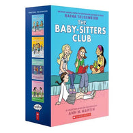 The Baby-Sitters Club #01-04 Full-Color Collection (4 Book)-BuyBookBook