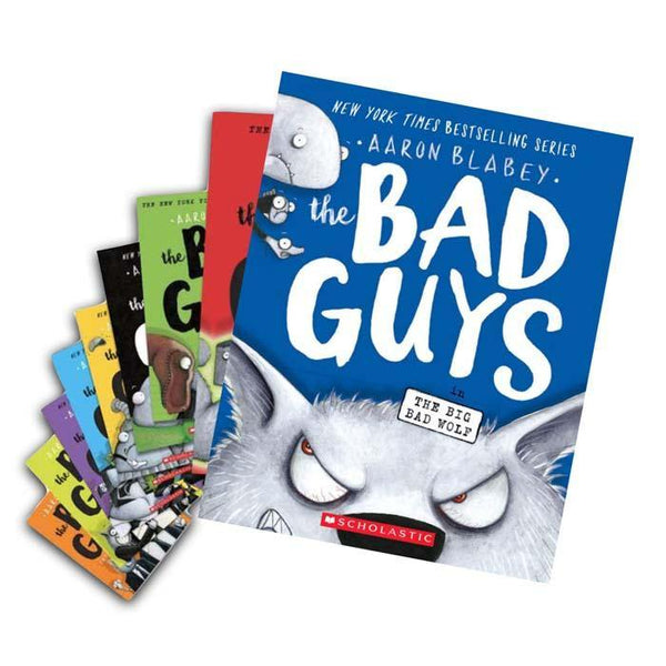 The Bad Guys Episode 1-9 Collection (9 Book)-BuyBookBook