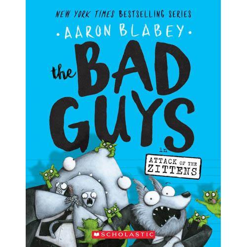 The Bad Guys Episode 04 in Attack of the Zittens (Aaron Blabey)-BuyBookBook