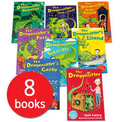 The Dragonsitter Collection (8 Books)-BuyBookBook