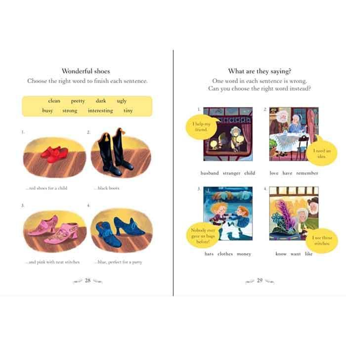 Usborne English Readers (L1) Elves and the Shoemaker, The (QR Code)-BuyBookBook