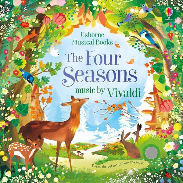 The Four Seasons with music by Vivaldi-BuyBookBook