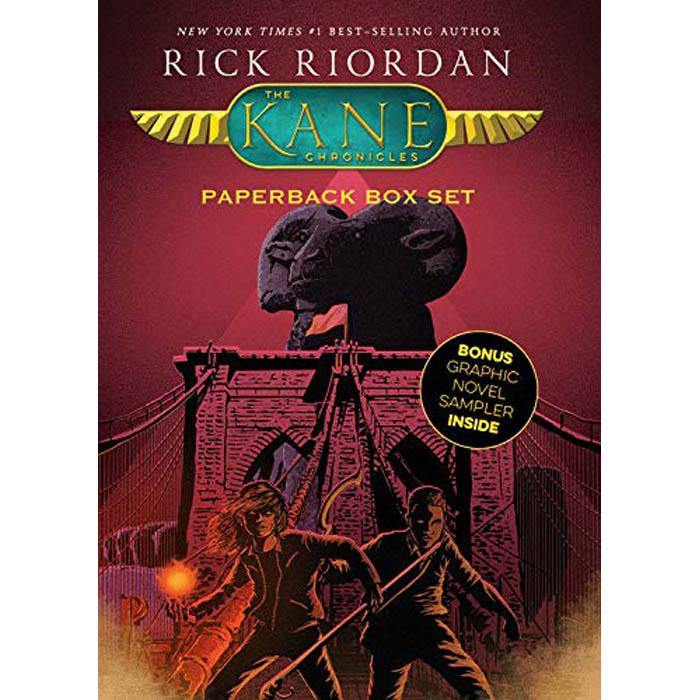 The Kane Chronicles Collection (3 Books + 1 Sampler Book)-BuyBookBook
