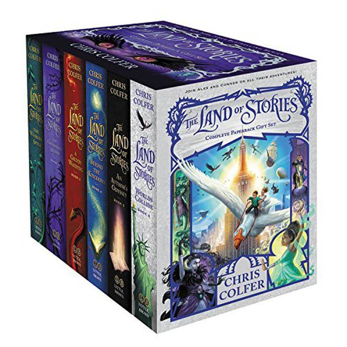 The Land of Stories Complete Collection (6 Book) (Chris Colfer) (Pre-order)-BuyBookBook