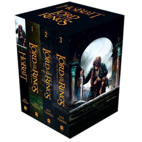 The Lord of the Rings The Hobbit Collection (4 Books)-BuyBookBook