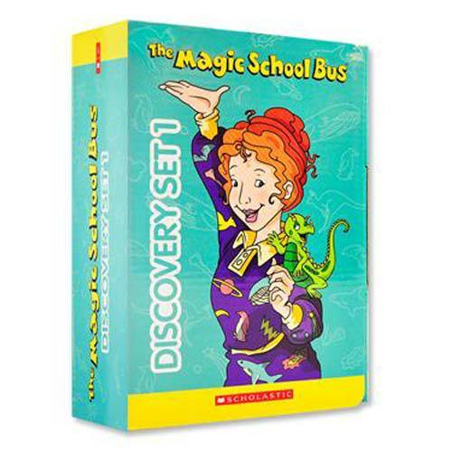 The Magic School Bus Discovery Set 1 (10 book + 10 CD)-BuyBookBook