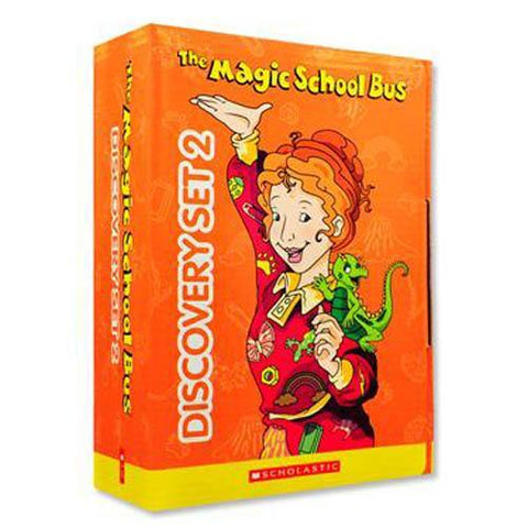 The Magic School Bus Discovery Set 2 (10 book + 10 CD)-BuyBookBook