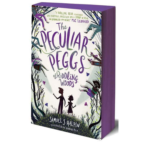 The Peculiar Peggs of Riddling Woods-BuyBookBook