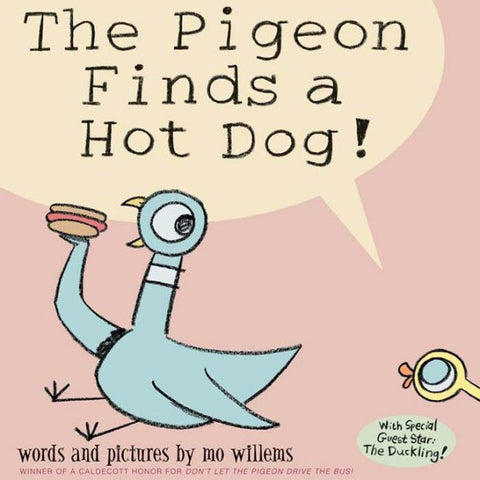 The Pigeon Finds a Hot Dog! (Hardback)-BuyBookBook