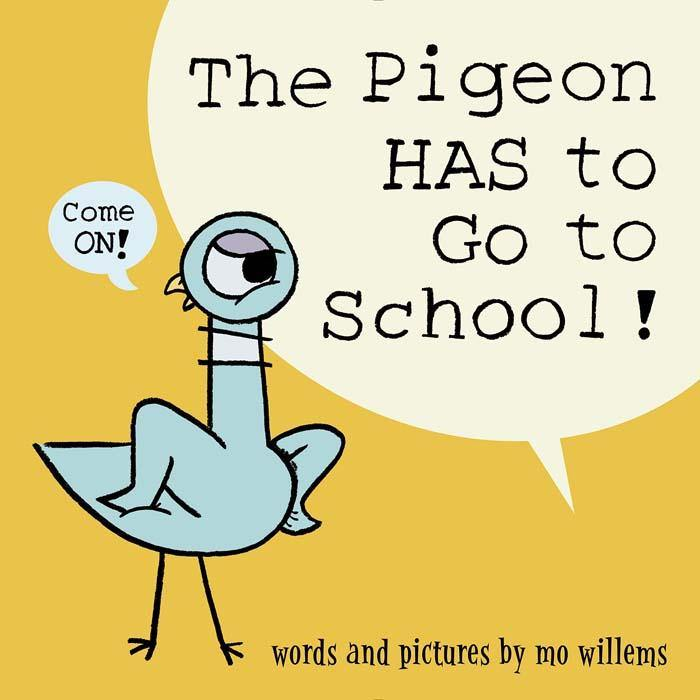 The Pigeon HAS to Go to School! (Hardback) (Mo Willems)-BuyBookBook