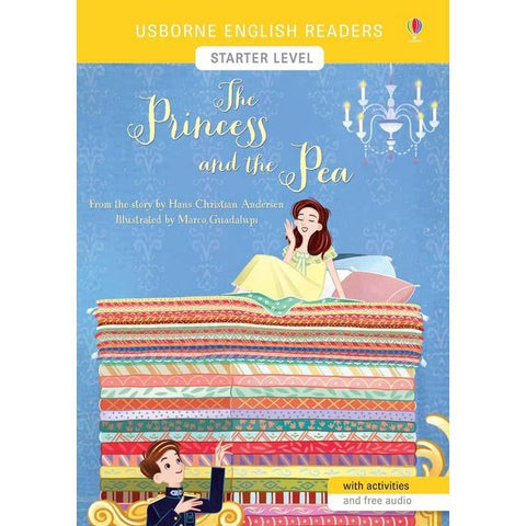 Usborne English Readers (L0) Princess and the Pea, The (QR Code)-BuyBookBook