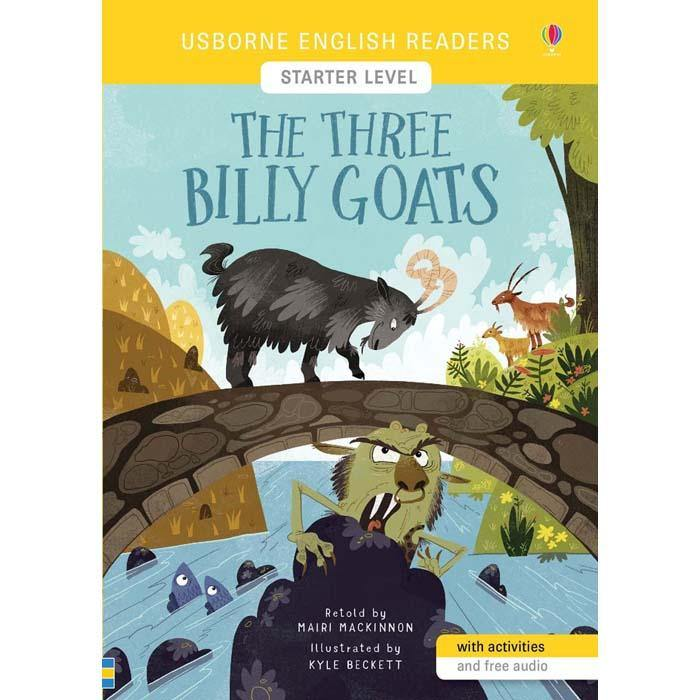 Usborne English Readers (L0) Three Billy Goats, The (QR Code)-BuyBookBook
