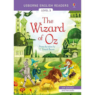 Usborne English Readers (L3) Wizard of Oz, The (QR Code)-BuyBookBook